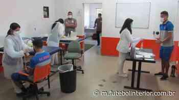 Paulista A2: Antes de voltar a treinar, Atibaia se reapresenta e passa por testes da covid - Futebolinterior