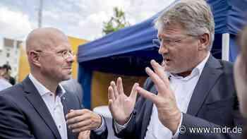 Bundeskonvent in Lommatzsch: AfD-Vorstandsmitglied sieht keine Spaltung   MDR.DE - MDR