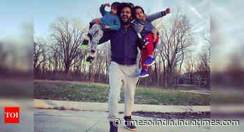 Riteish shares a cute video of Riaan & Rahyl