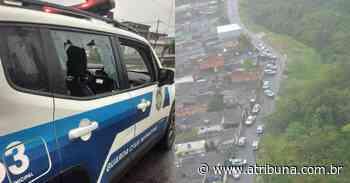 Viatura da Guarda Municipal é alvejada com 10 tiros em Praia Grande - A Tribuna