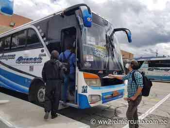 Azogues y Cuenca reactivan transporte - El Mercurio (Ecuador)