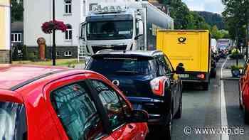 Bad Berleburg: Nordknoten ist jetzt Nadelöhr - Westfalenpost