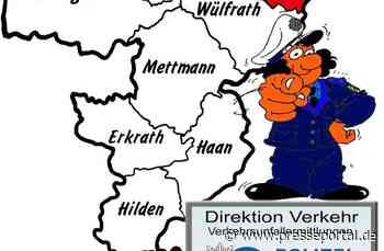 POL-ME: Verkehrsunfallfluchten aus dem Kreisgebiet - Velbert / Langenfeld - 2007157 - Presseportal.de