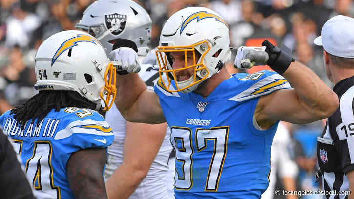 Joey Bosa, Chargers Agree To Terms On $135 Million Contract Extension