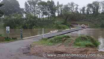 Motorists should avoid Melville Ford as Hunter River rises - The Maitland Mercury