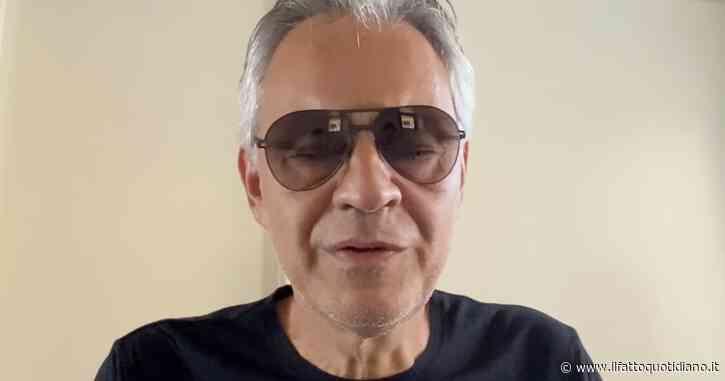 """""""Mie parole sul Coronavirus? Chiedo scusa"""", online il pentimento di Andrea Bocelli dopo l'intervento al convegno negazionista"""