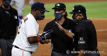 Benches Clear in First Astros-Dodgers Game Since Cheating Revelations