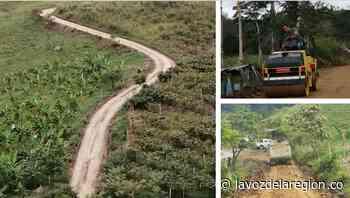 Continúan acciones para recuperar las vías rurales en Saladoblanco - Noticias