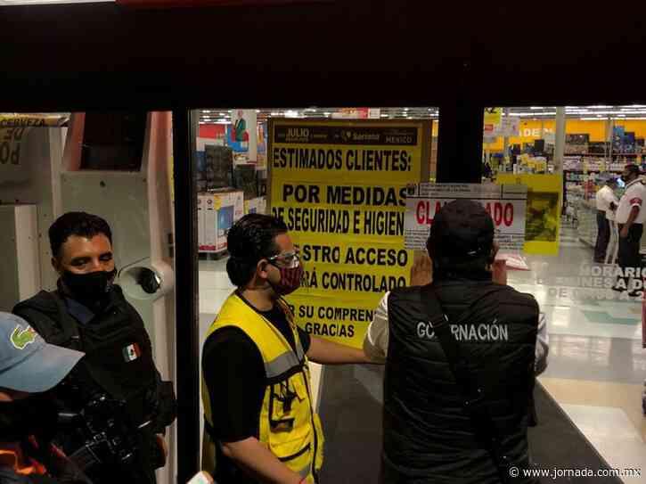 Suspenden tienda Soriana en Chilpancingo por estampida - Estados - La Jornada