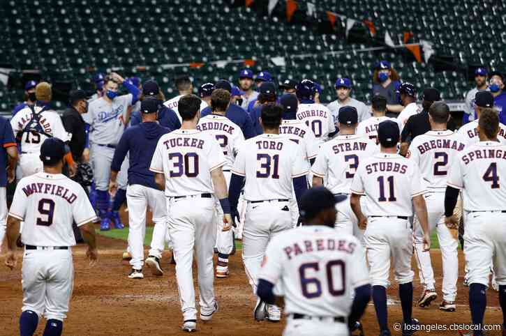 Dodgers Pitcher Joe Kelly Sparks Bench-Clearing Brawl In Win Over Astros