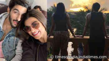 Rohman Shawl has the sweetest anniversary wish for ladylove Sushmita Sen