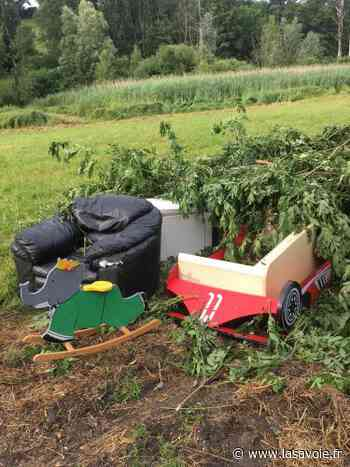 (PHOTOS) Bons-en-Chablais : des déchets sauvages s'accumulent à côté d'une zone protégée - site lasavoie.fr