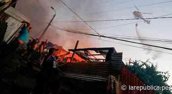 Incendio destruyó más de 100 viviendas en Chile esta Navidad [VIDEO] - LaRepública.pe