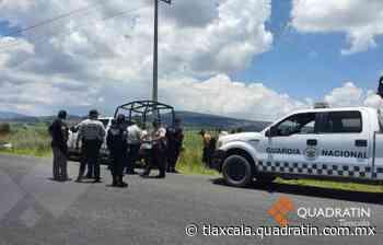 Evita GN y Policía Municipal de Tlaxco secuestro y atraco a dos personas - Quadratín Tlaxcala