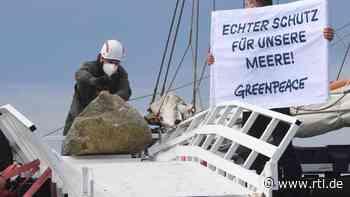 Greenpeace beendet Versenken von Steinen vor Rügen - RTL Online