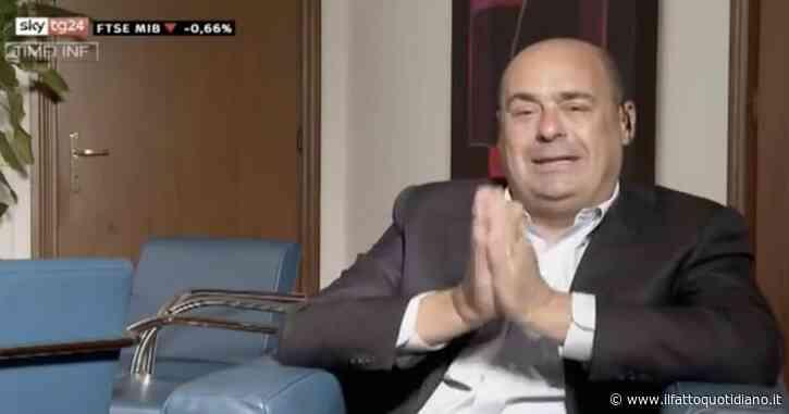 """L'apertura di Zingaretti al maggioritario. Il leader dem a Sky Tg24: """"Fino a tre settimane fa tutti d'accordo sul proporzionale. Ora invece…"""""""