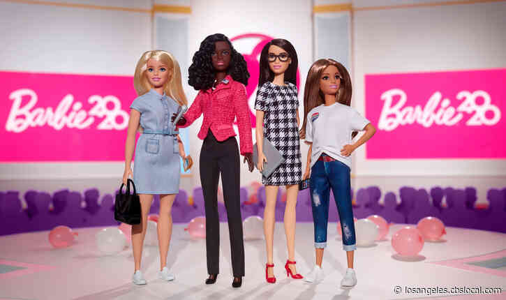 Mattel Launches Presidential Campaign Barbie Dolls