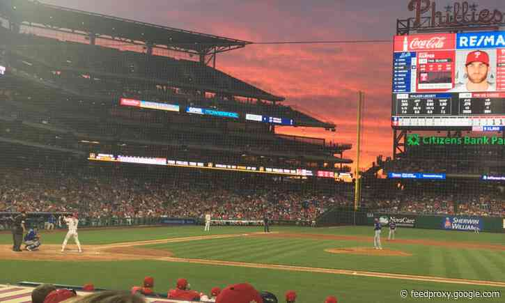 Phillies season now on hold until Saturday
