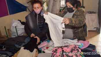 El Comedor Piedra Blanca recibió donaciones de ropa y abrigo - Mendovoz