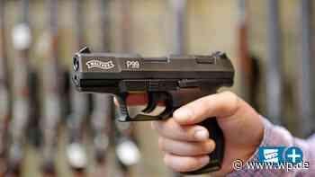 Brilon: Mann rastet aus und bedroht Radfahrer mit Pistole - Westfalenpost