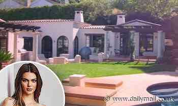 Kendall Jenner gives the world a glimpse into her art-packed, bohemian Los Angeles mansion