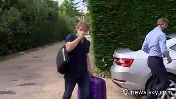 Coronavirus: Transport Secretary Grant Shapps defends Spain quarantine as he returns from trip - Sky News