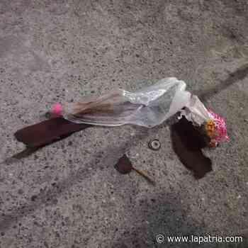 Lanzaron artefacto explosivo contra la sede de Bomberos de Chinchiná - La Patria.com