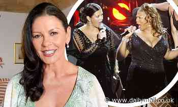 Catherine Zeta-Jones reveals she was 10 DAYS from her due date during 2003 Oscars performance