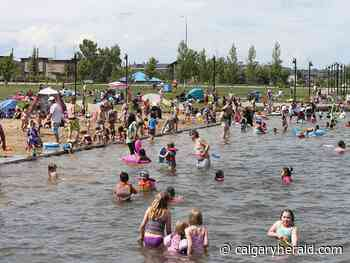 Chestermere sets capacity limits at beaches - Calgary Herald