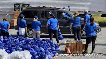 Dodgers Deliver Over 22,000 Meals to Families in Inglewood - NBC Southern California