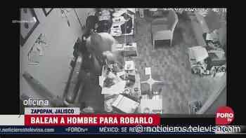 Balean a hombre para robarlo en restaurante de Zapopan - Noticieros Televisa