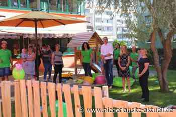 Neue Spielterrasse für Zwergenhaus am See in Senftenberg - NIEDERLAUSITZ aktuell