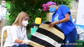 Artesanas en Luruaco reciben dotación reciclable para sus productos - EL HERALDO