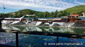 À Vernon, la station flottante culturelle et itinérante dresse un bilan positif - Paris-Normandie