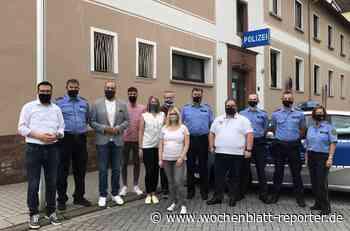 Zu Gast bei der Polizeiinspektion Landstuhl: Junge Union fordert stärkere Verfolgung von Gewalt gegen Beamte der Sicherheitsbehörden - Landstuhl - Wochenblatt-Reporter
