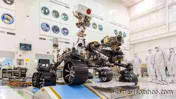 Nasa Mars rover: Perseverance robot poised for launch