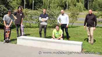 Neuer Block für Skateboard-Tricks erfreut Wolfsburger Sportler - Wolfsburger Nachrichten