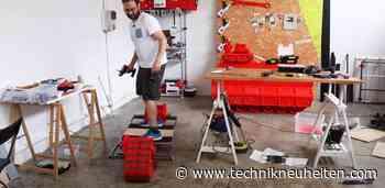 YouTuber baut elektrisches Offroad-Panzer-Skateboard mit 3D-Drucker - Technik Neuheiten