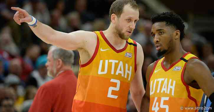 Weekly Run newsletter: Donovan Mitchell and Joe Ingles bring a human element to the NBA's restart