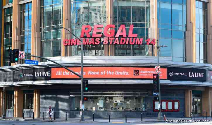Regal Announces Plan To Reopen Movie Theaters Aug. 21