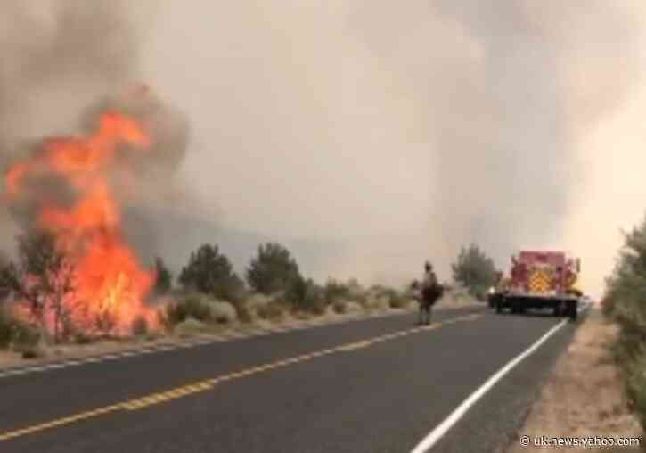 Crews Face Hot and 'Unstable' Weather While Battling Caldwell Fire in California
