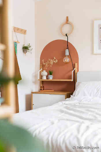 How to DIY Painted Wall Arches