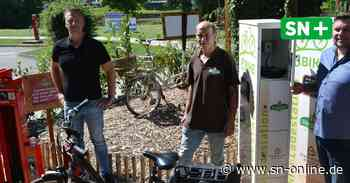 Rinteln: Biergarten Weserdorf bietet mehr Service für E-Bike-Fahrer - Schaumburger Nachrichten