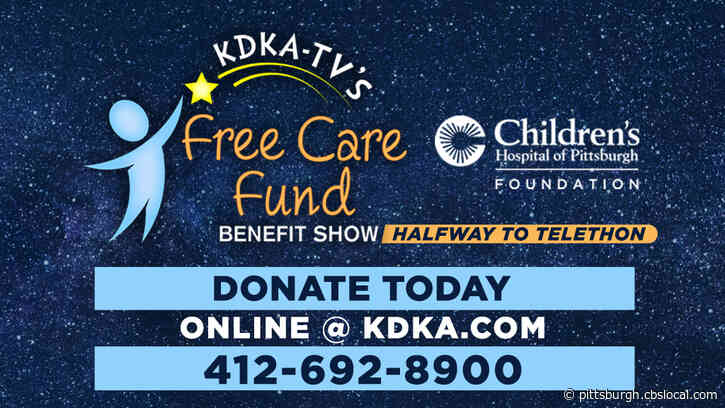 KDKA Partners With Children's Hospital For Free Care Fund 'Halfway To Telethon' Benefit