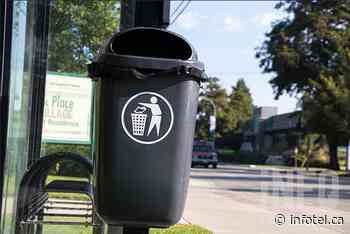 Penticton's public garbage bins stuffed with signs of success in beach booze plan - iNFOnews