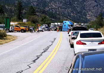 Highway 97 closed in both directions south of Okanagan Falls - Penticton News - Castanet.net