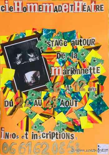 Stage d'initiation à l'art de la marionnette lundi 24 août 2020 - Unidivers