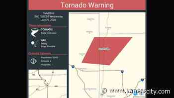 Tornado reported near Smithville, Missouri, warning issued for Clay, Platte counties - Kansas City Star