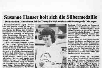 Wie Trampolinturnerin Susanne Schöffler nach einem Motorradunfall in die Weltspitze zurückkehrte - Turnen - Badische Zeitung