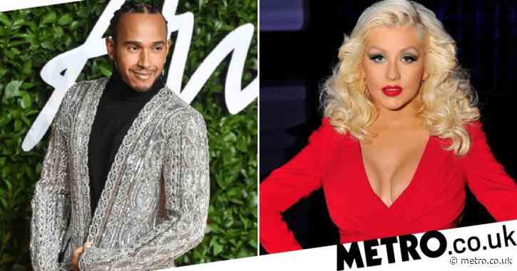 Lewis Hamilton finally confirms he's Christina Aguilera's secret collaborator on Pipe